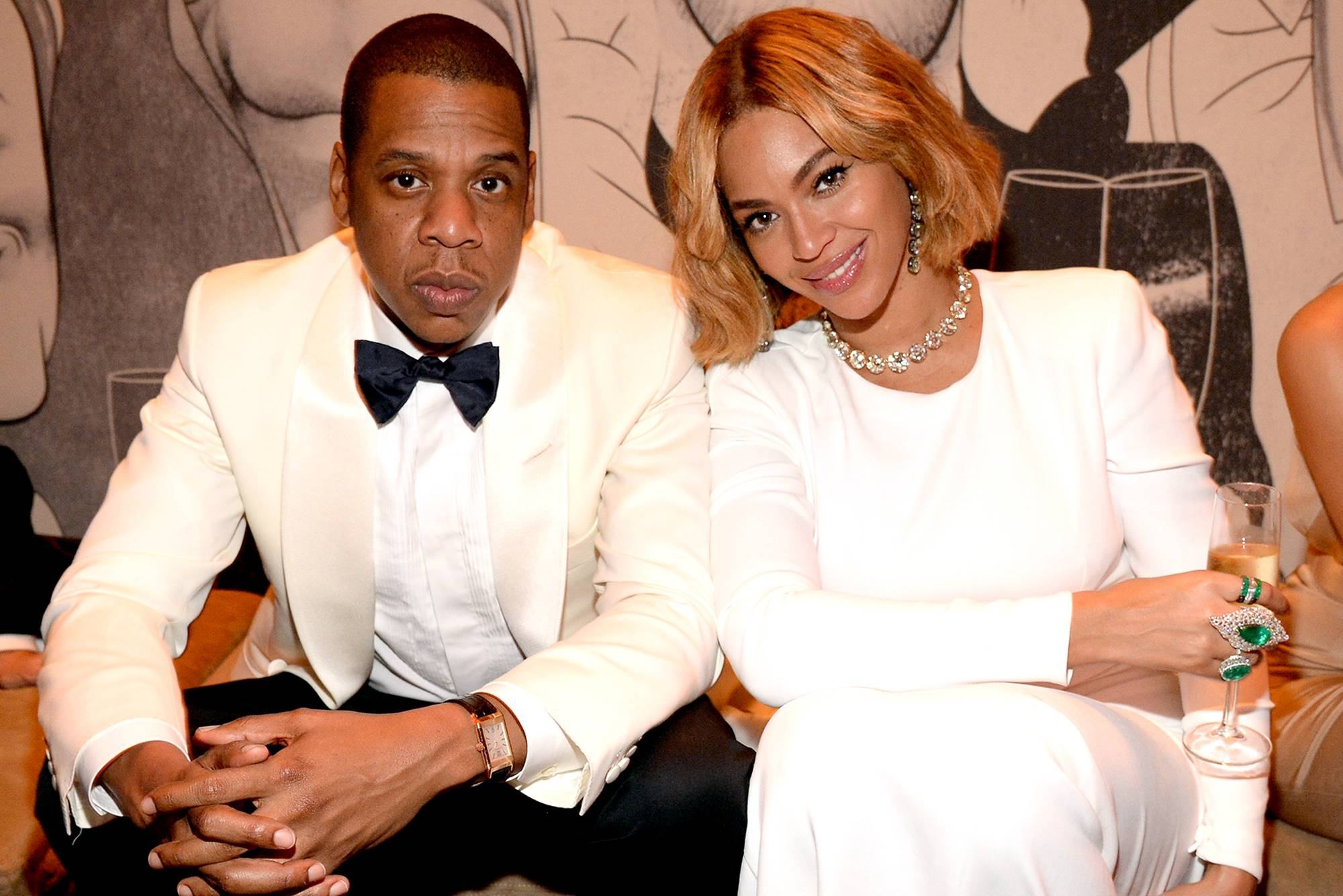 Jay-Z Beyonce Tina Lawson Knowles R. Kelly