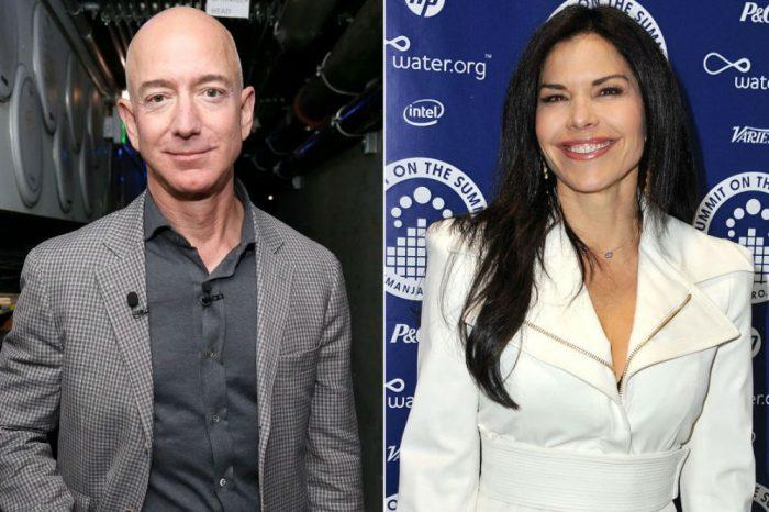 Jeff Bezos' Mistress Lauren Sanchez Demands Attention At NYC Eatery