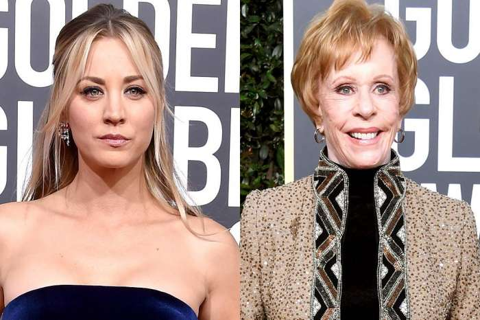 Kaley Cuoco Addresses The Backlash Over Her Not Standing Up For Carol Burnett At The Golden Globes