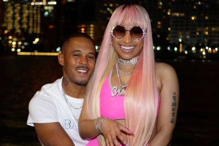 Nicki Minaj Shares Raunchy Video Where Boyfriend Kenneth Petty Is Doing Things To Her Toes