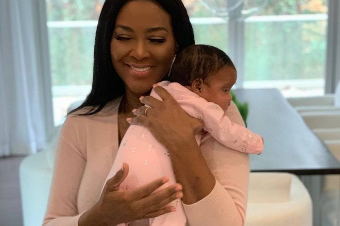 Kenya Moore Has 'RHOA' Fans Confused Over C-Section After Sharing Beach Picture With Brooklyn Daly