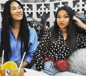 Kimora Lee Simmons' Daughter Aoki Brags About Her Wealth To Critic Of Her Sister Ming's Latest Photo