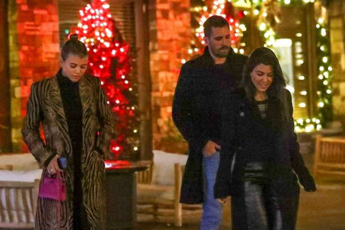 Kourtney Kardashian And Sofia Richie Are 'Trying Their Best' To Get Along For Scott Disick
