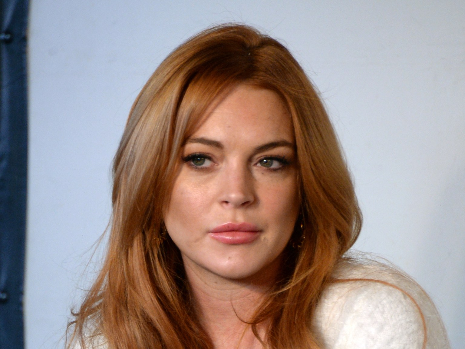 Lindsay Lohan too busy being a boss to party