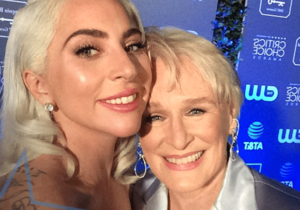 Lady Gaga and Glenn Close