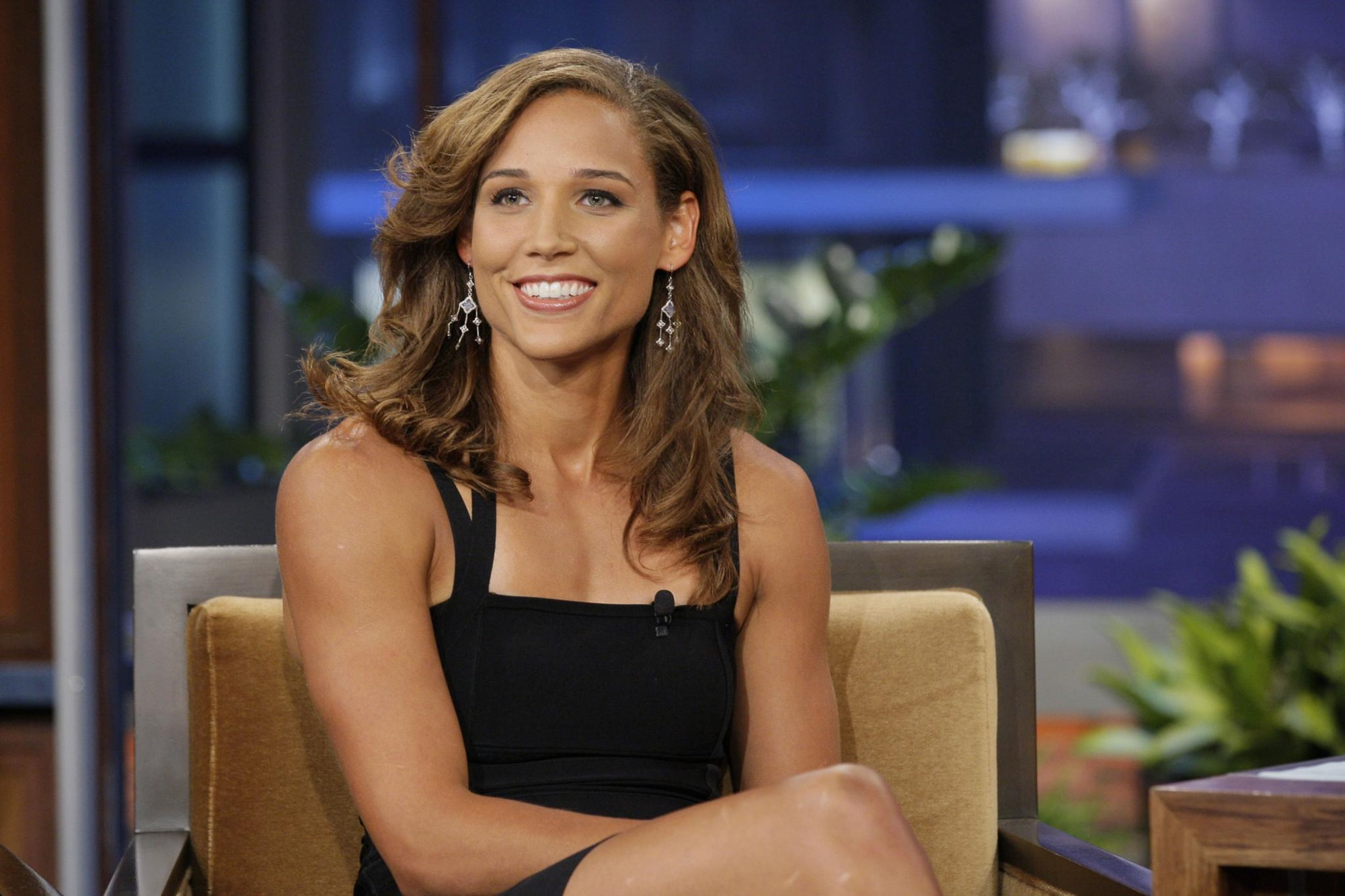 Lolo Jones Tamar Braxton Celebrity Big Brother Fight