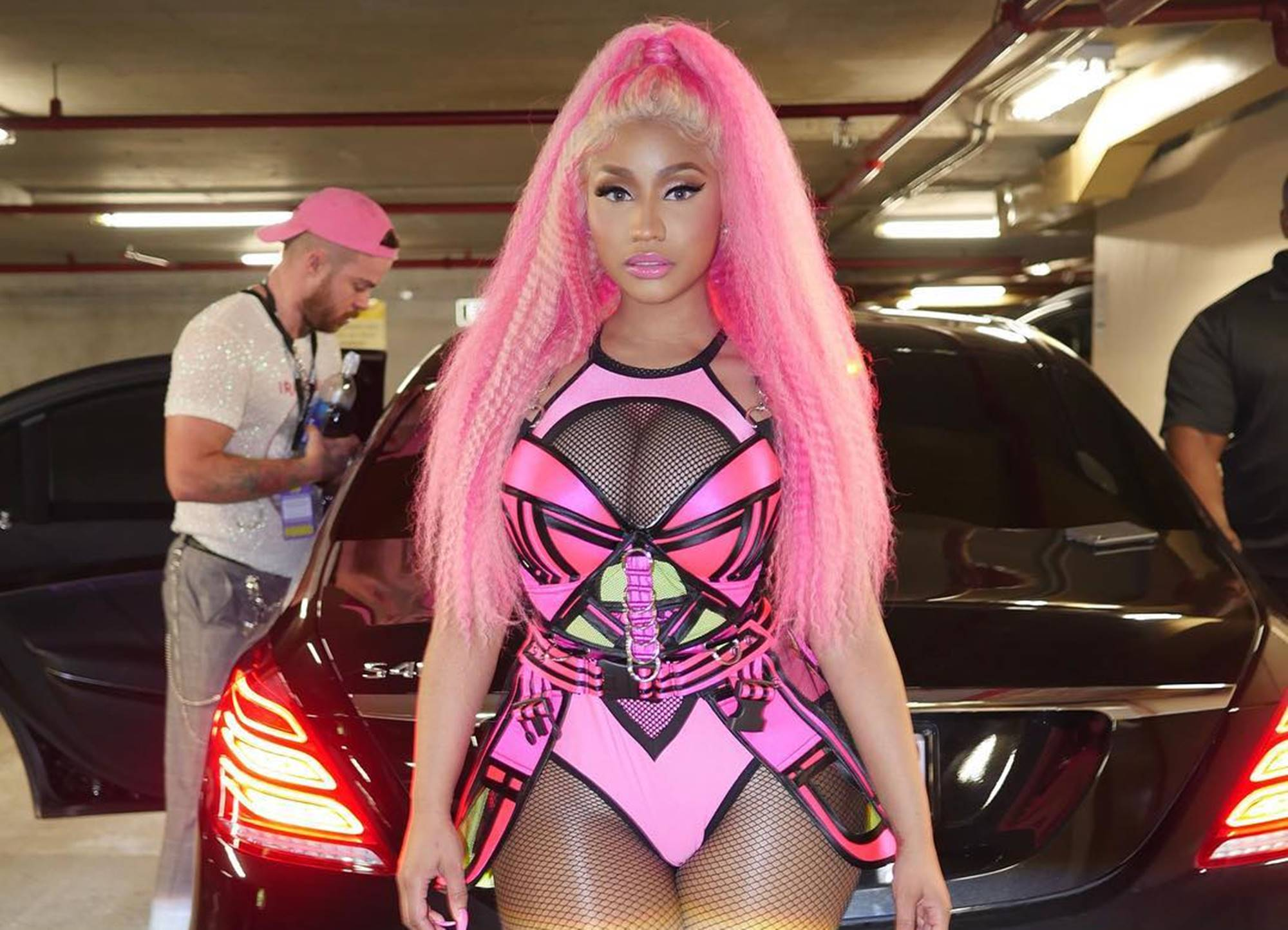 """nicki-minaj-is-a-real-life-barbie-doll-in-new-pictures-as-romance-with-kenneth-petty-continues-to-blossom-lil-waynes-friend-is-completely-smitten-with-her-beau"""