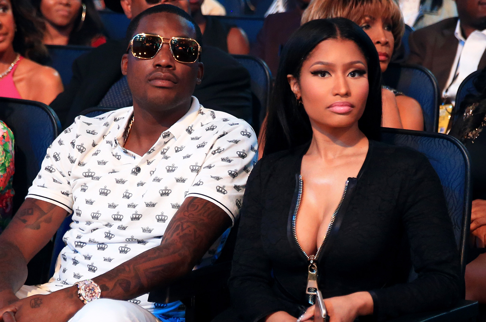 Nicki Minaj says she's got secrets to tell about Meek Mill