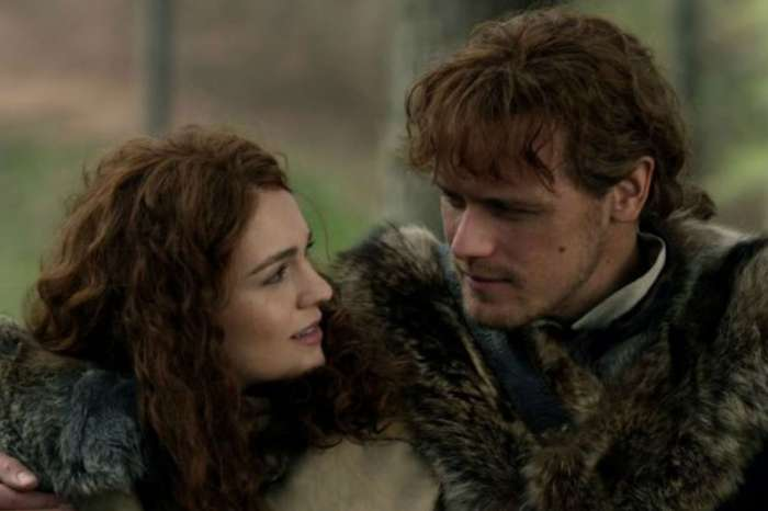 'Outlander' Stars Sam Heughan and Sophie Skelton Break Down Their Bitterweet Reunion