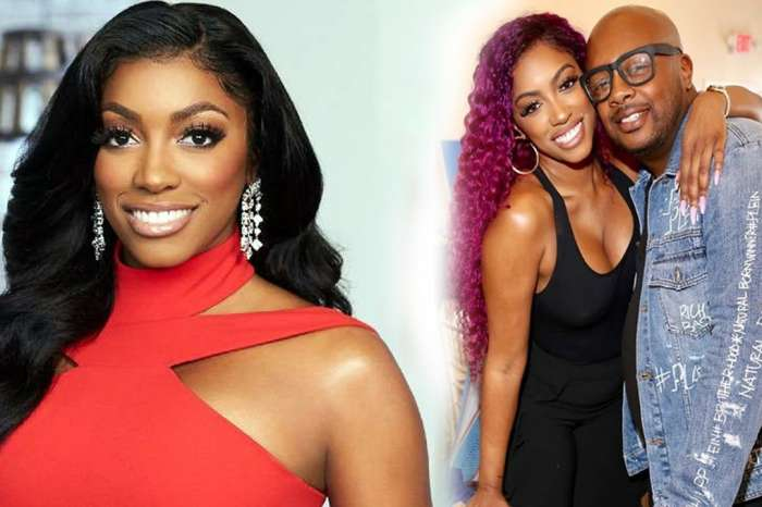 Porsha Williams Rocks Her Pregnancy Curves In A Tight Red Dress