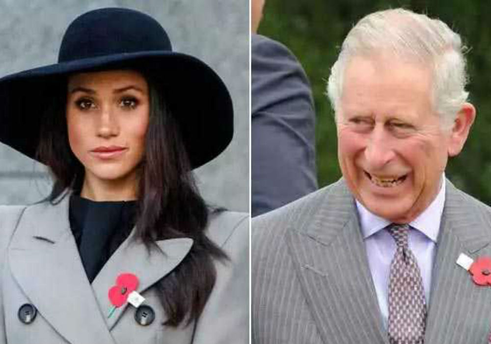Prince Harry Reportedly Turning To Prince Charles To Help Meghan Markle Become More Popular
