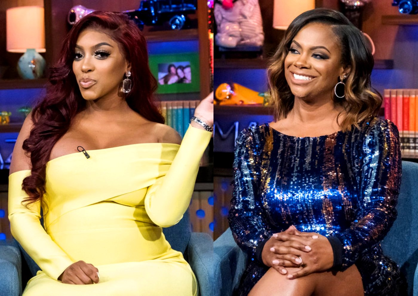 Porsha Williams' Fans Have A Good Laugh Seeing How She's Dealing With Old Drama 'Tryna Sneak Back Up' - Kandi Burruss Is Shaded Again