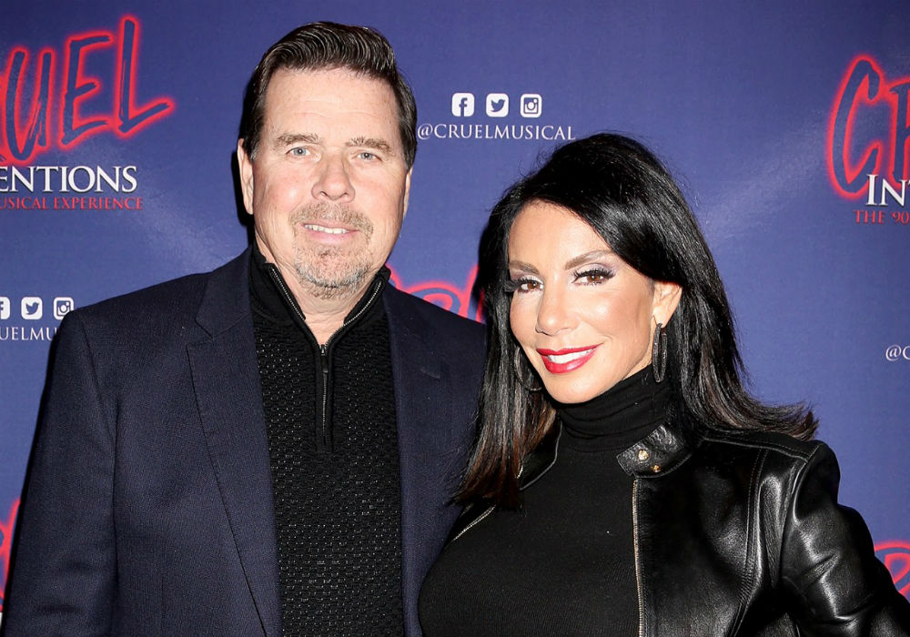 RHONJ' Star Danielle Staub Has Police Remove Estranged Husband Marty Caffrey From Their Home