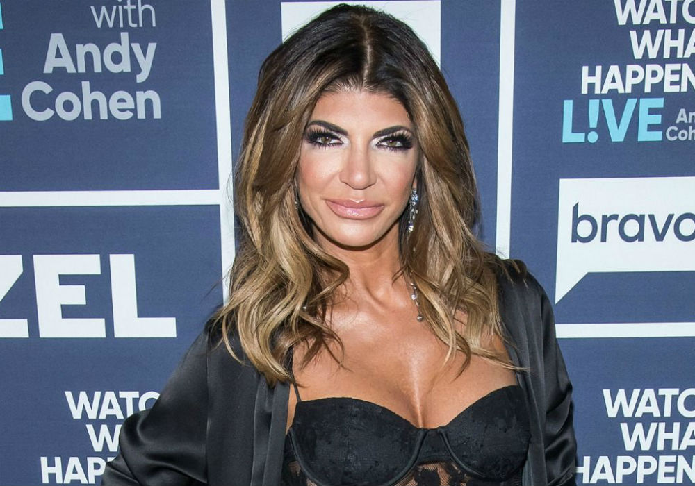 'RHONJ' Star Teresa Giudice Caught Getting Cozy With A New Man While Joe Is Still Rotting In Prison