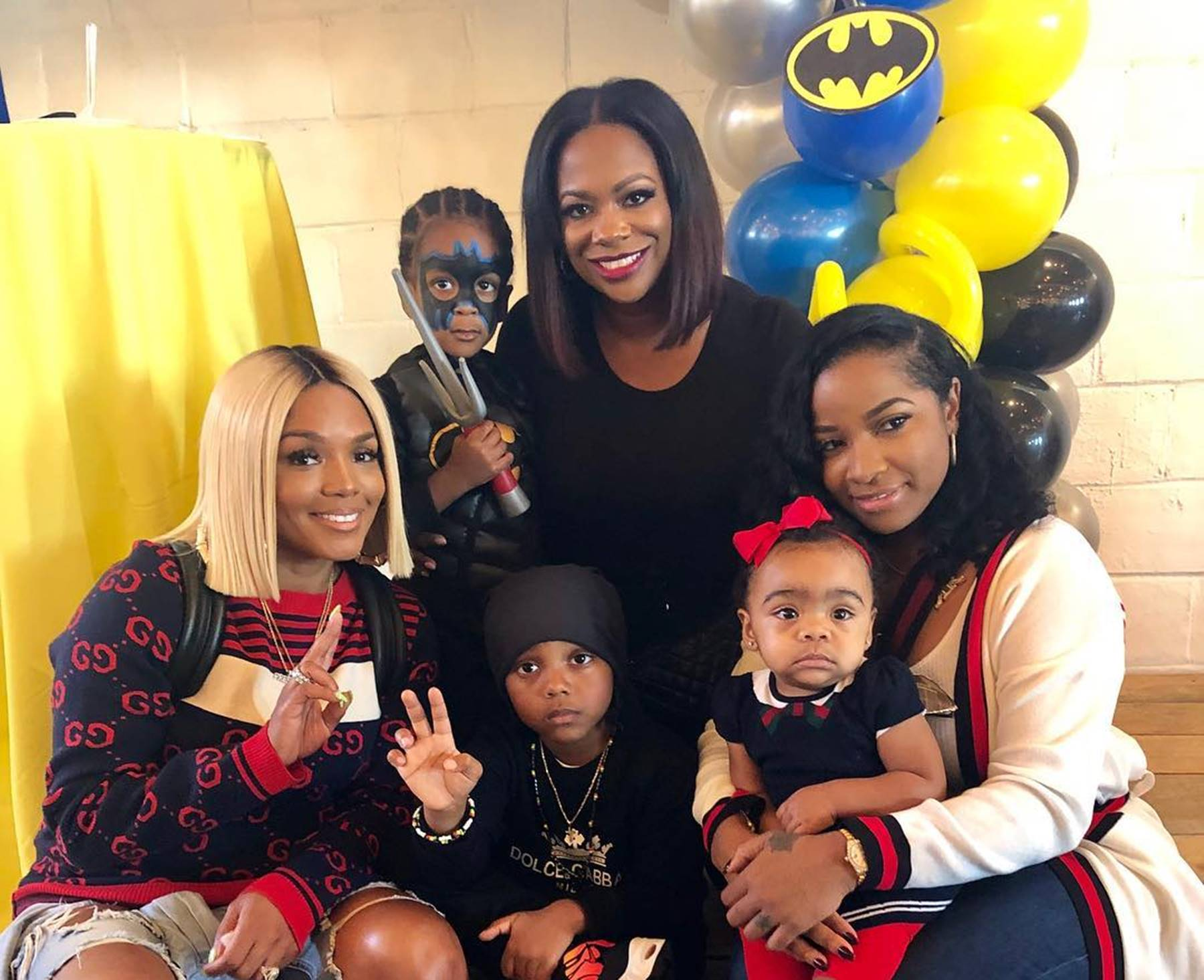Rasheeda Frost Kandi Burruss Toya Wright Children