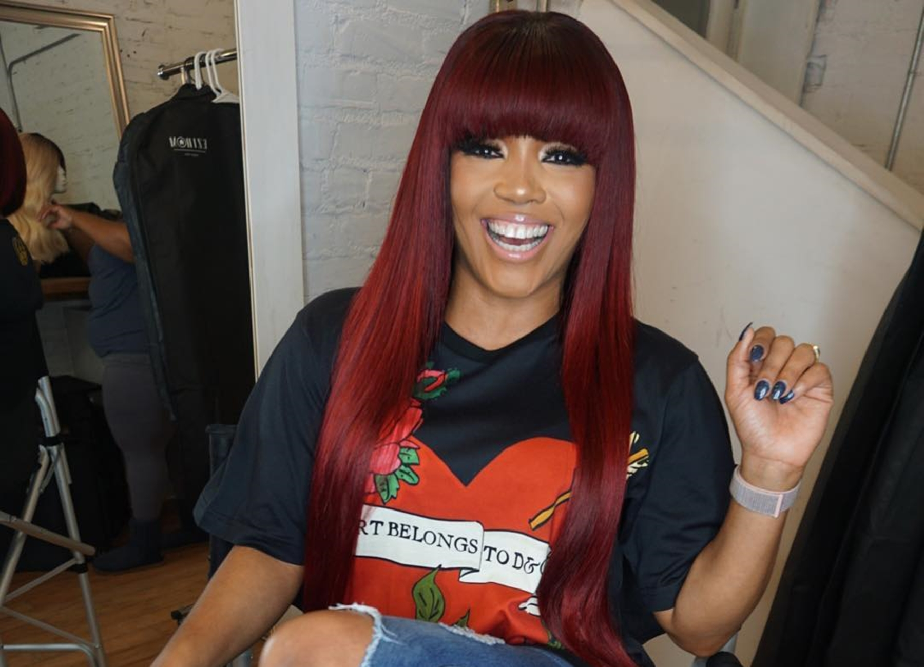 """rasheeda-frost-debuts-new-long-red-hair-and-fans-are-here-for-it"""