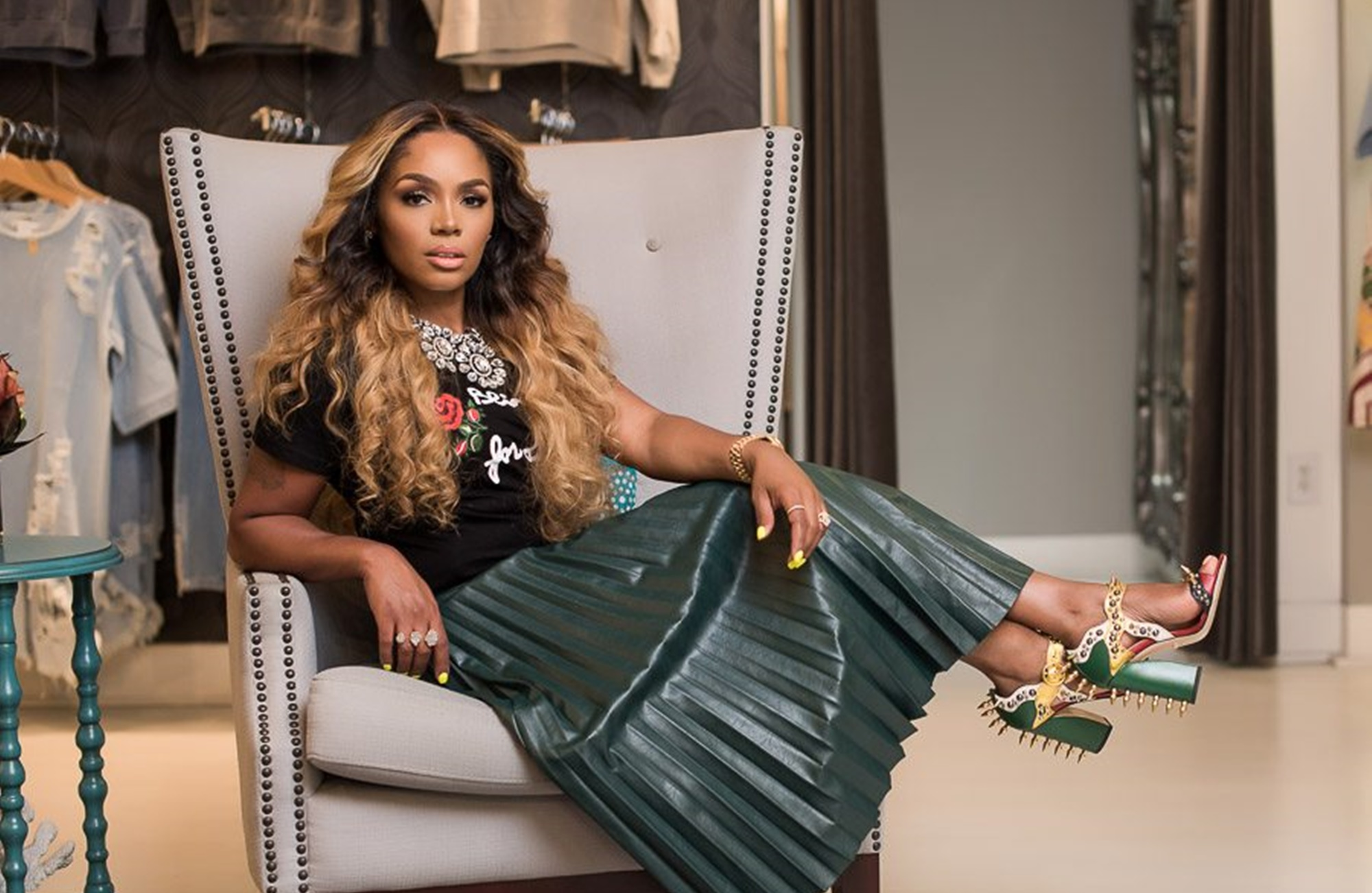 Rasheeda Frost Is Featured In Krave Magazine: 'The Future Is Female' - Check Out The Pages
