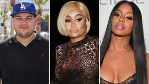 Blac Chyna Thinks Rob Kardashian And Alexis Skyy Are Dating To Get Under Her Skin And They Won't Last!