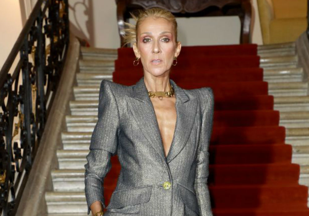 Scary Skinny Celine Dion Brought To Tears At Paris Fashion Week