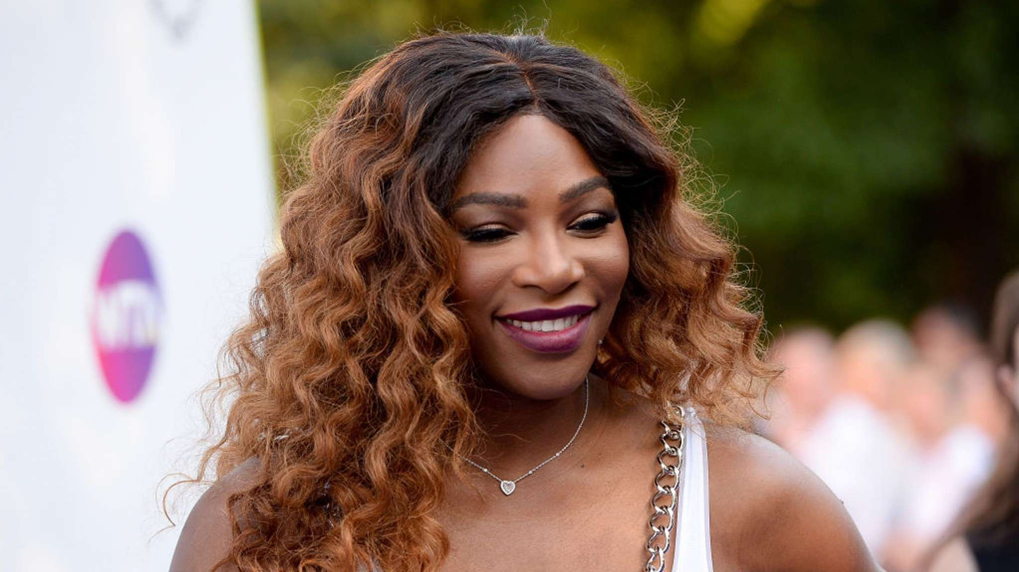 896dbae901ca Serena Williams Rocks Fishnets And A Teal Romper At The Australian Open And  Everyone Is A Fan!