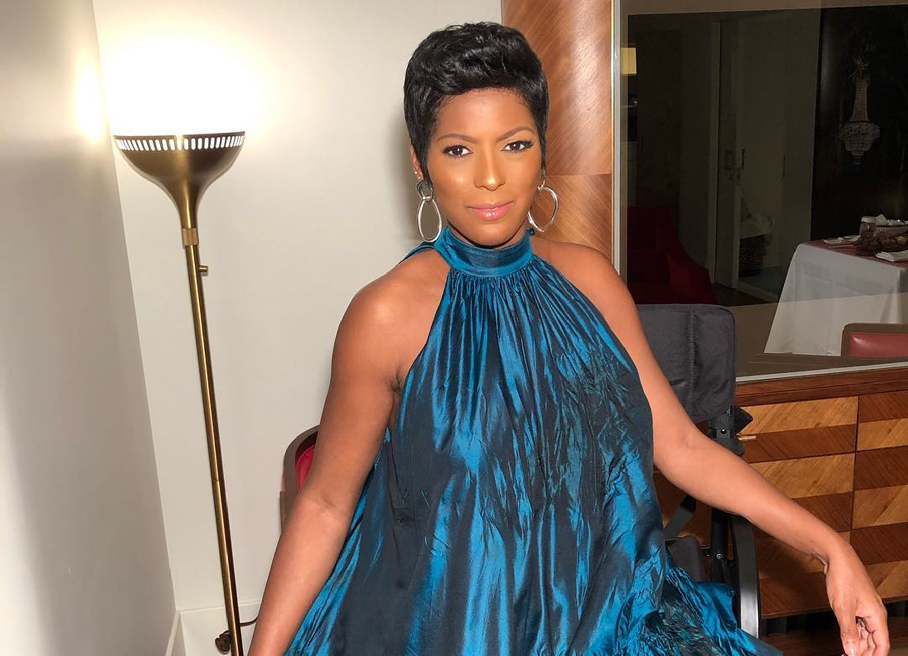 Tamron Hall TODAY Show Vacation