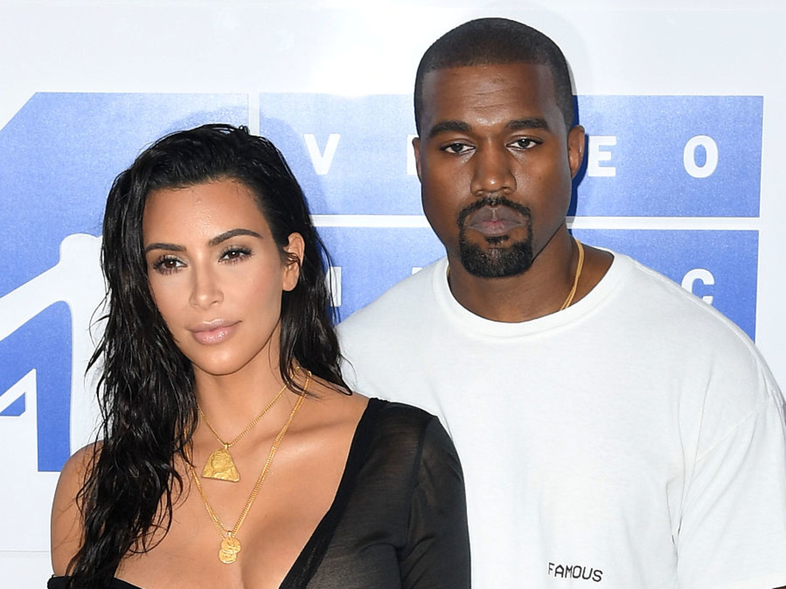 See Kim Kardashian's Priceless Reaction to Kanye West's 112 Surprise