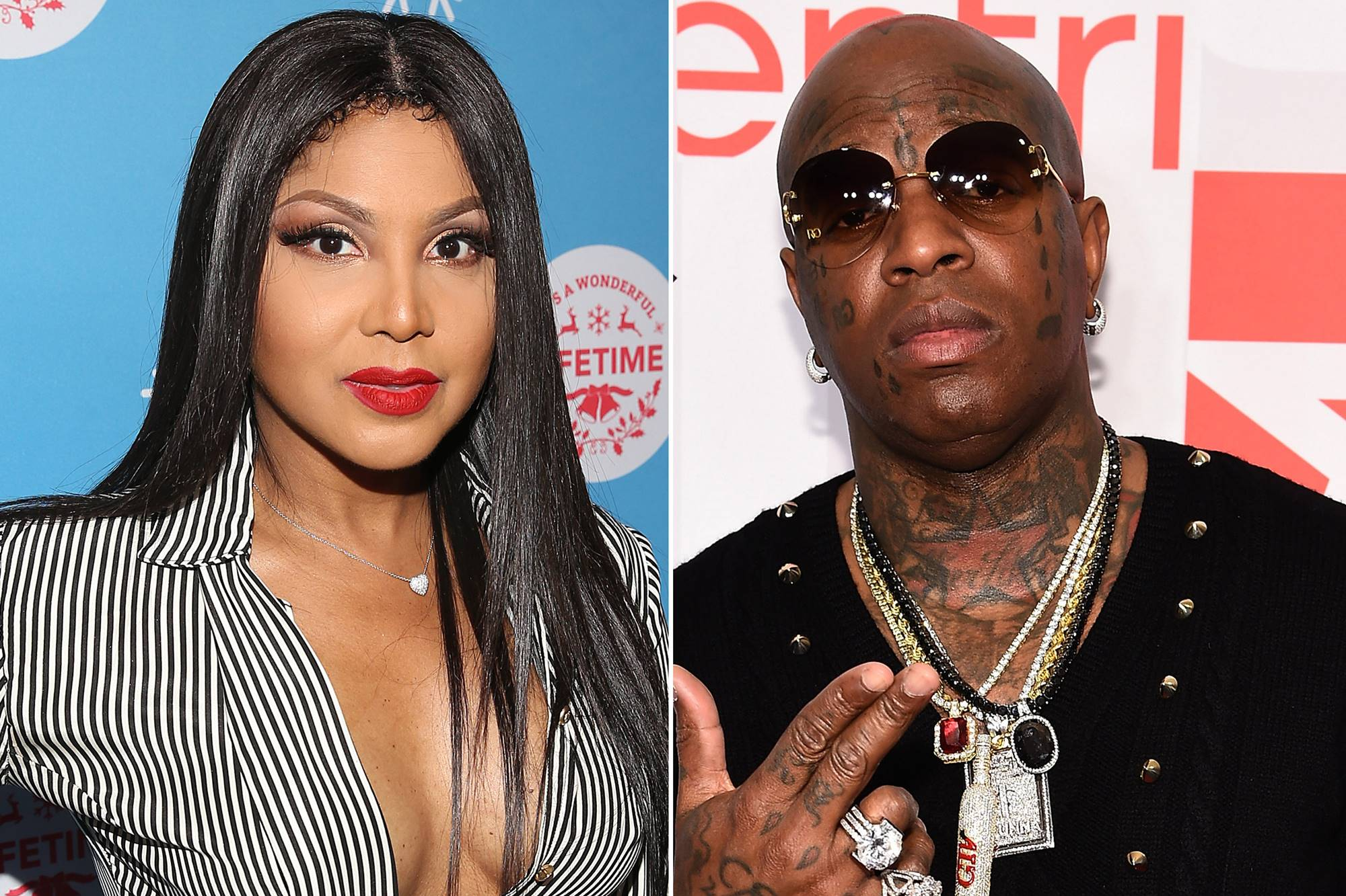 Toni Braxton Bryan Christopher 'Birdman' Williams Reconcile On Stage