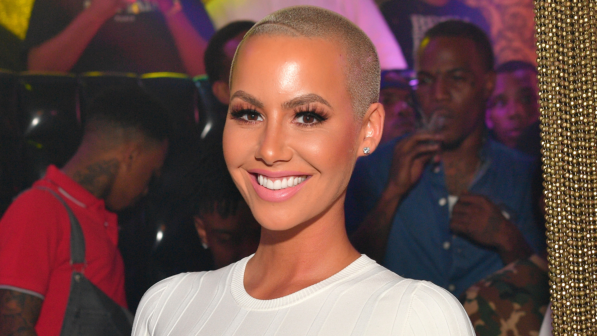 Amber Rose Praises Her New Man After Dating Narcissists, Cheaters, And Abusers
