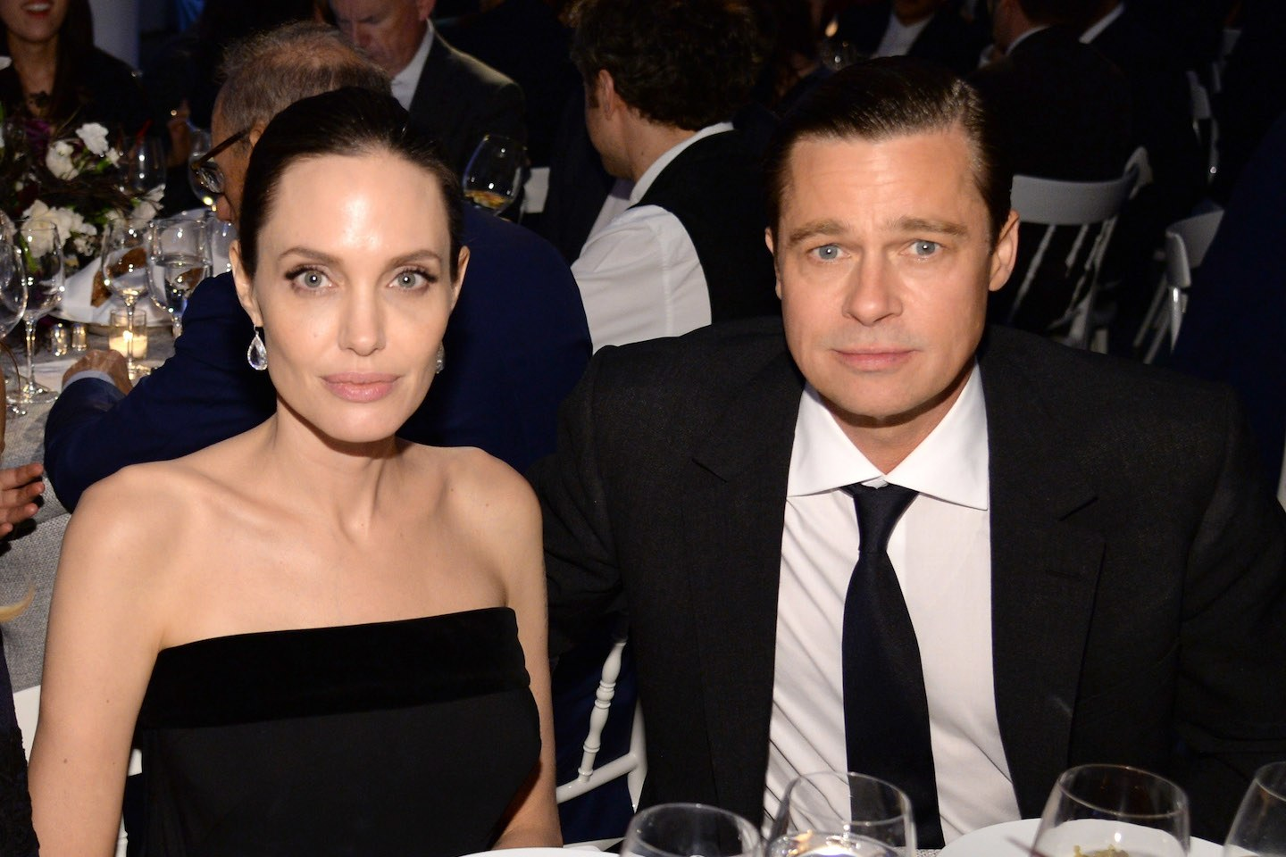 """brad-pitt-and-angelina-jolie-photographed-together-in-public-for-the-first-time-since-their-split-details"""