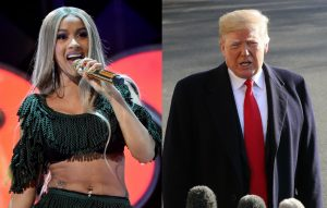 Cardi B Harrassed By Trump Supporters After Criticising The POTUS - She Fires Back!