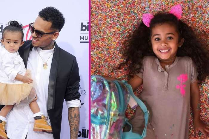 Chris Brown Is Very Happy To Be Back With Daughter Royalty After Rape Accusations And Arrest!
