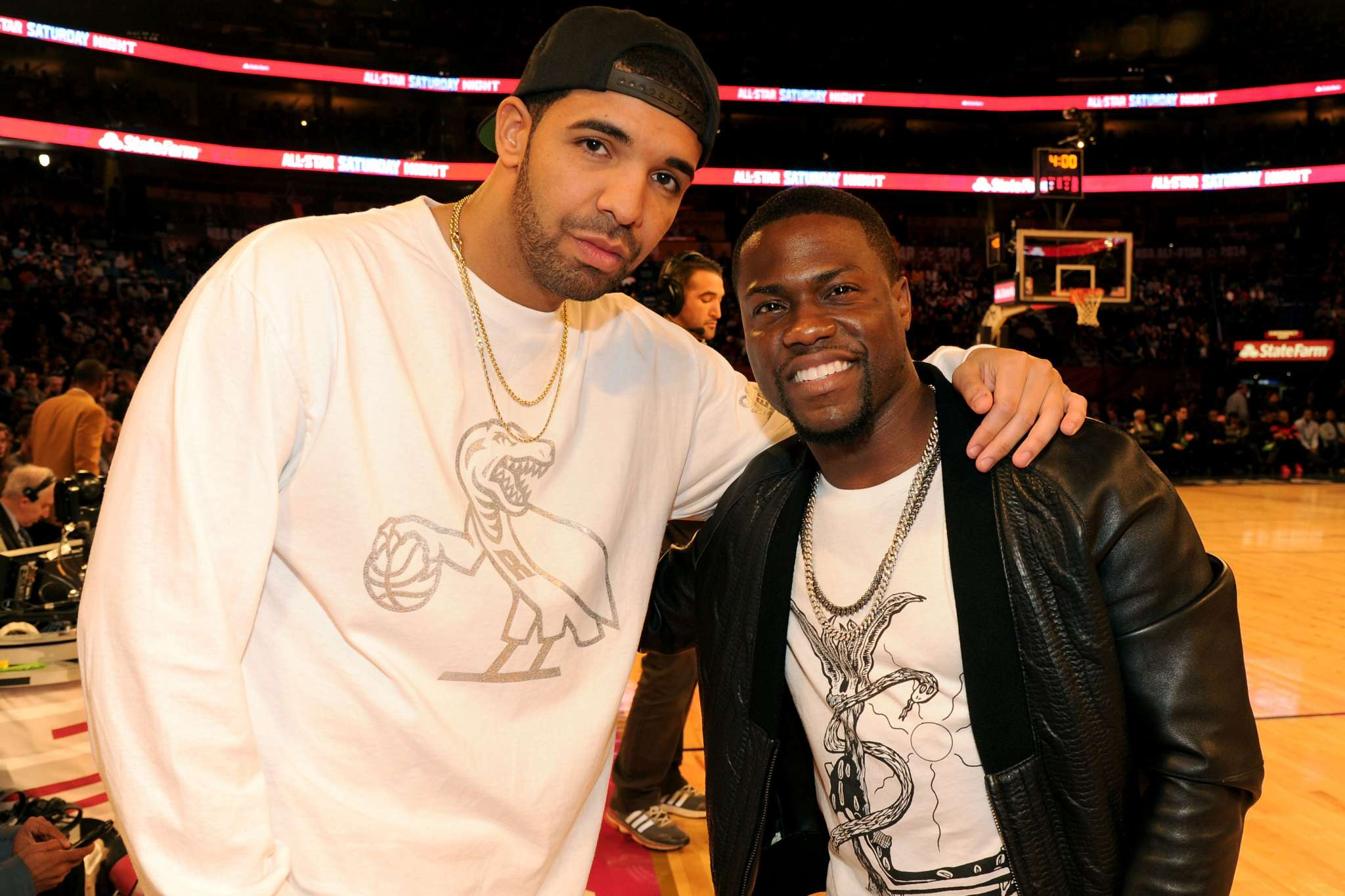 Drake Strangely Makes Fun Of Kevin Heart's Beard On Social Media: 'It's Terrible'
