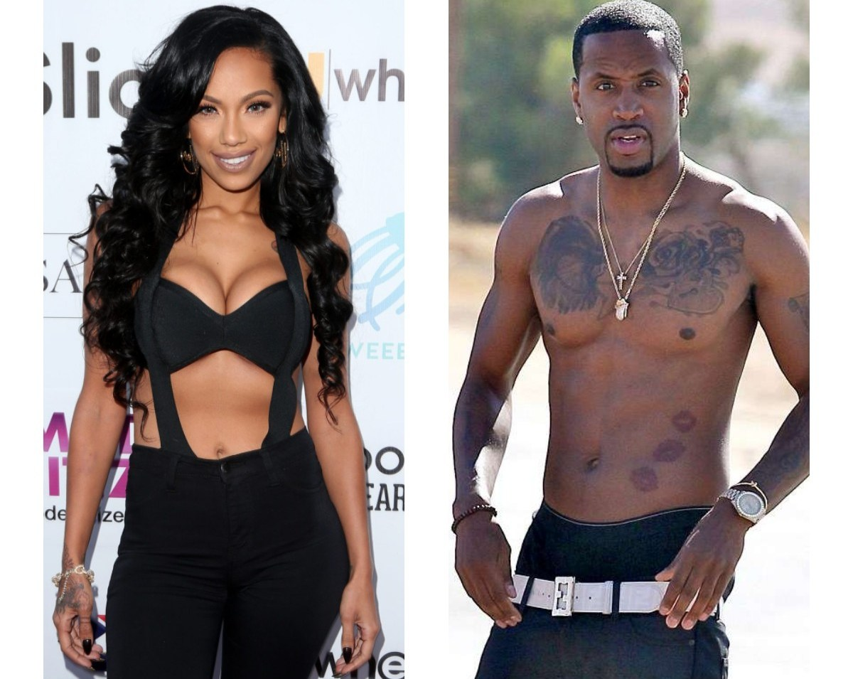 Image result for images of Safaree Samuels and Erica Mena