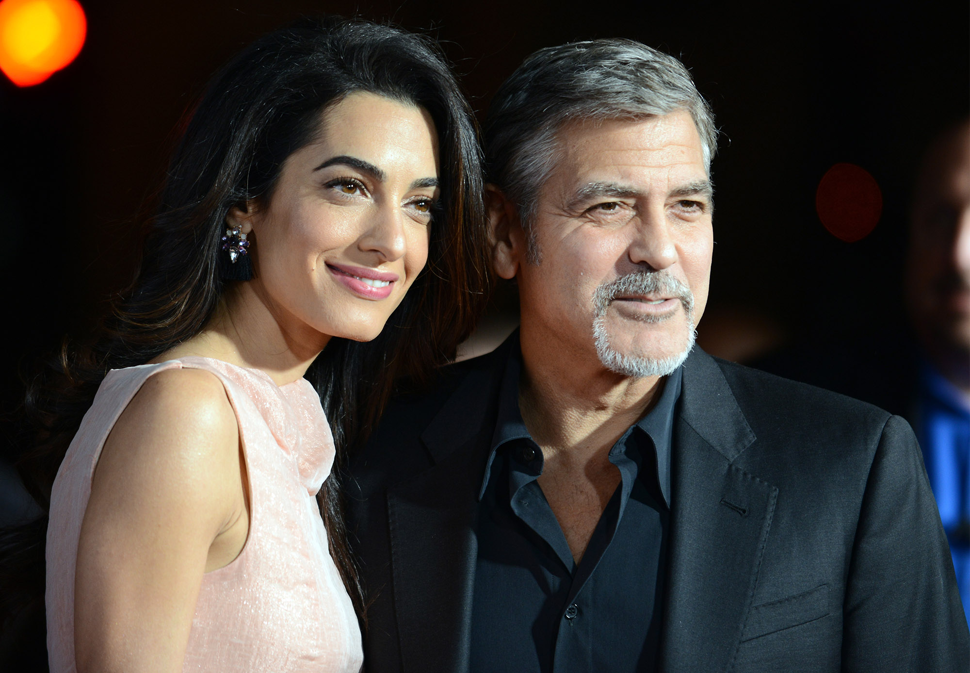 George Clooney And Ama...