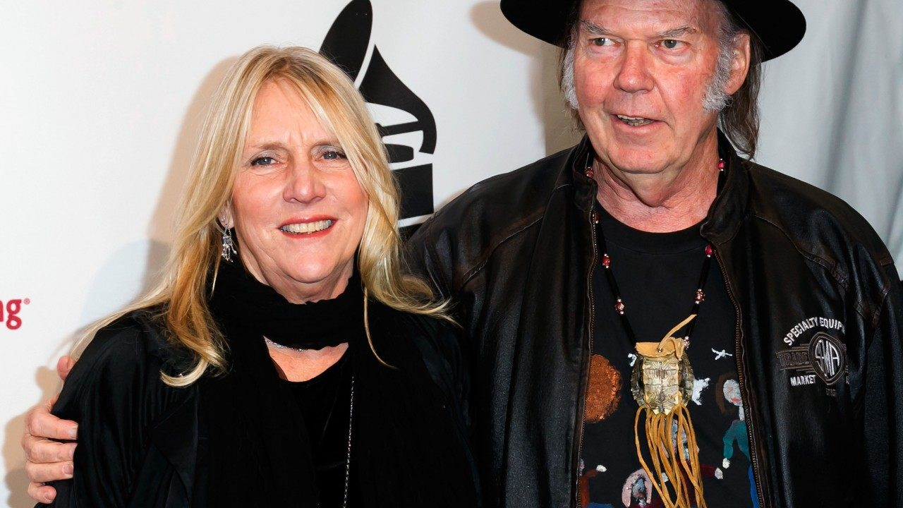 Neil Young pays tribute to ex-wife Pegi Young