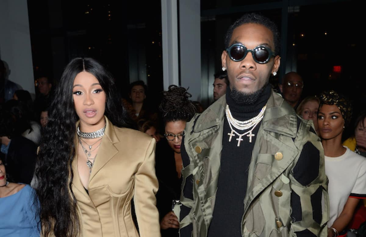 Cardi B Gives Offset A Lap Dance Onstage At Bet Awards: Offset Calling Cardi B 'Day And Night' Begging Her To Take
