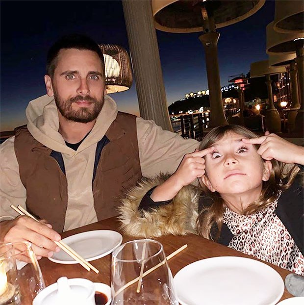 Scott Disick criticized for 'racist' photo of daughter