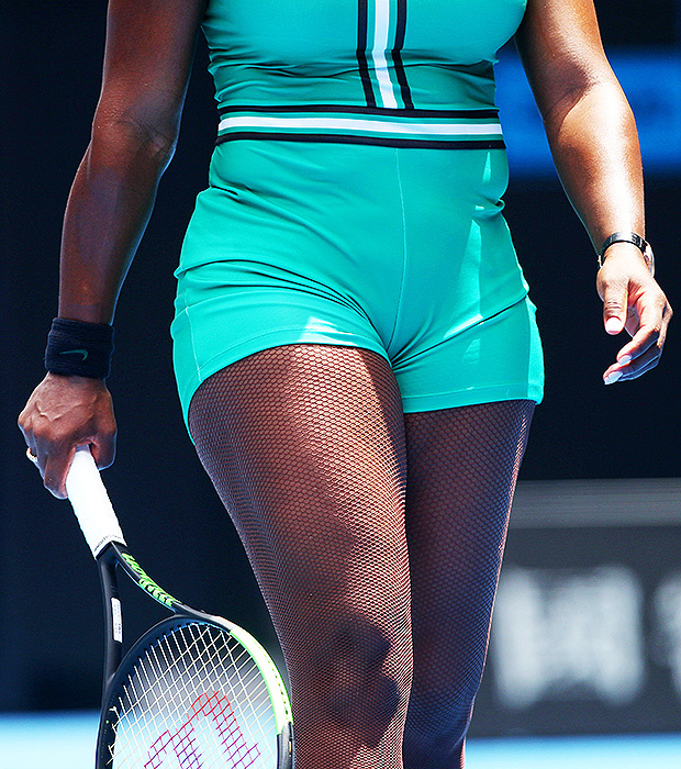 serena-williams-wears-fishnet-stockings-mini-catsuit