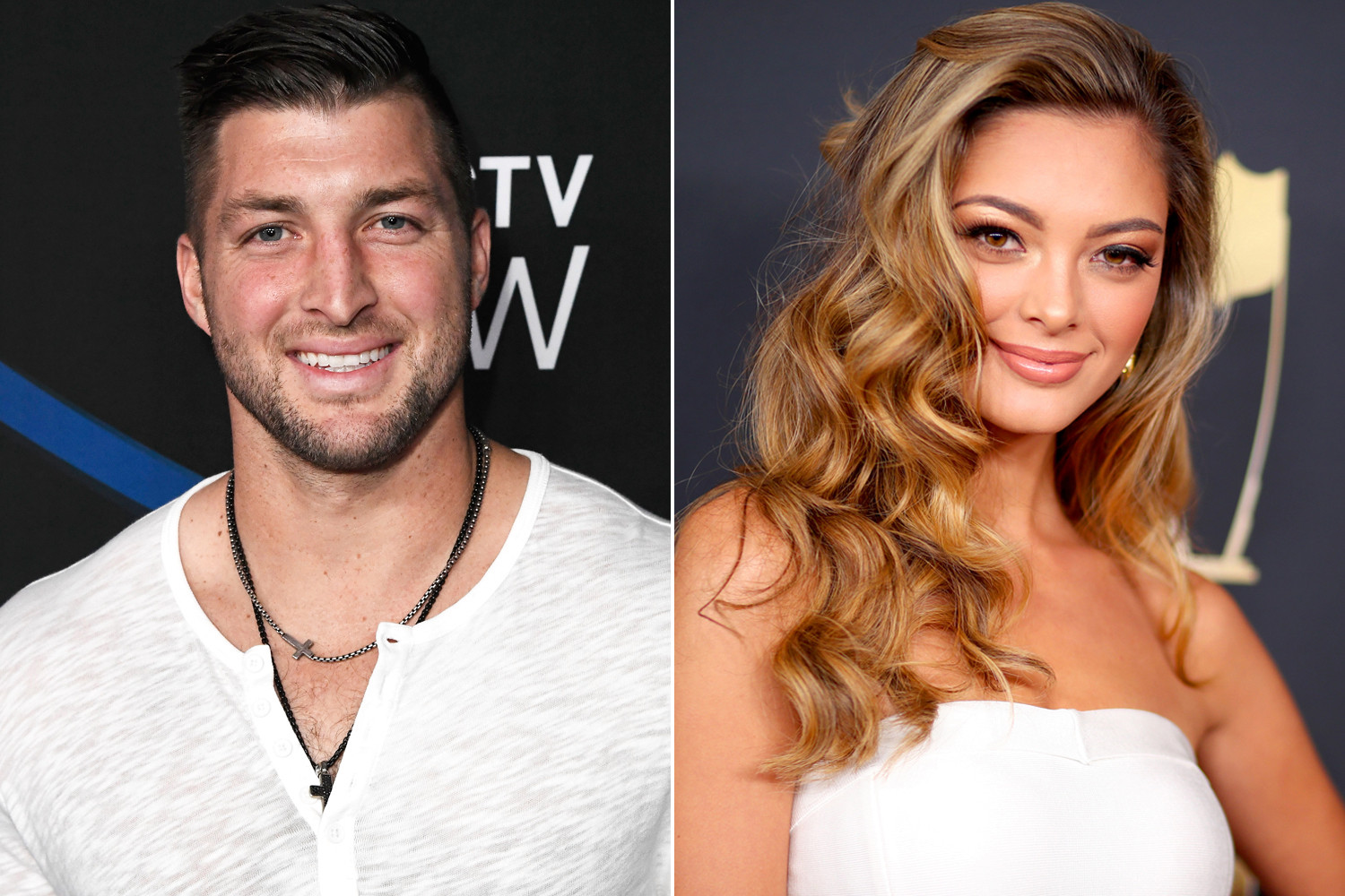 Tim Tebow Asks Miss Universe Demi Leigh Nel Peters To