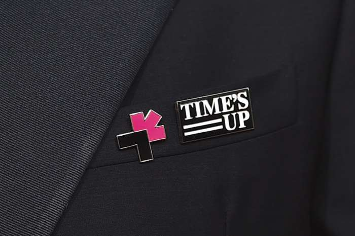 Idris Elba, Ryan Seacrest And More Stars Wear 'Time's Up' Pins And Wristbands At The Golden Globes And Explain Why!