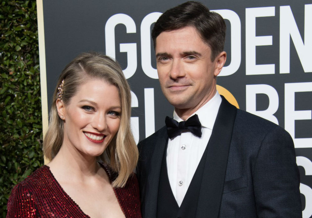 """topher-grace-and-ashley-hinshaw-attend-golden-globes-as-grace-readies-for-breakthrough-premiere"""