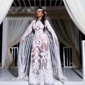 Jennifer Lopez And Tammy Rivera Rocked The Same Beaded Dress - Tammy Was Slammed By Her Choice At The Wedding Reception