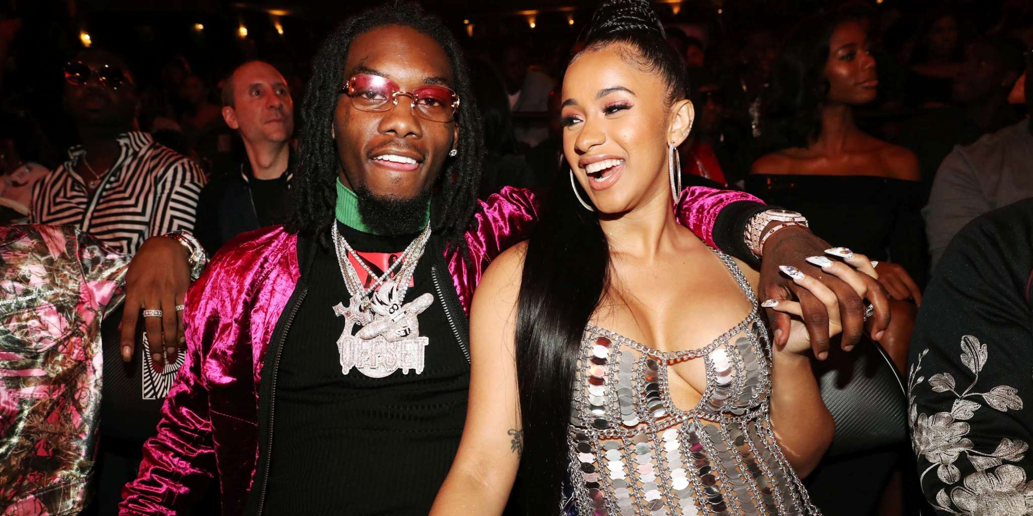 Offset Gets His Cardi B S Daughter S Name Tattooed On: Cardi B Caught FaceTiming Offset At The Airport: 'He's My