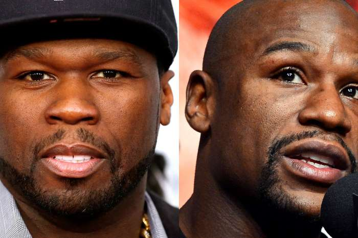50 Cent Reignites Floyd Mayweather Feud By Mocking His Knee-High Boots!