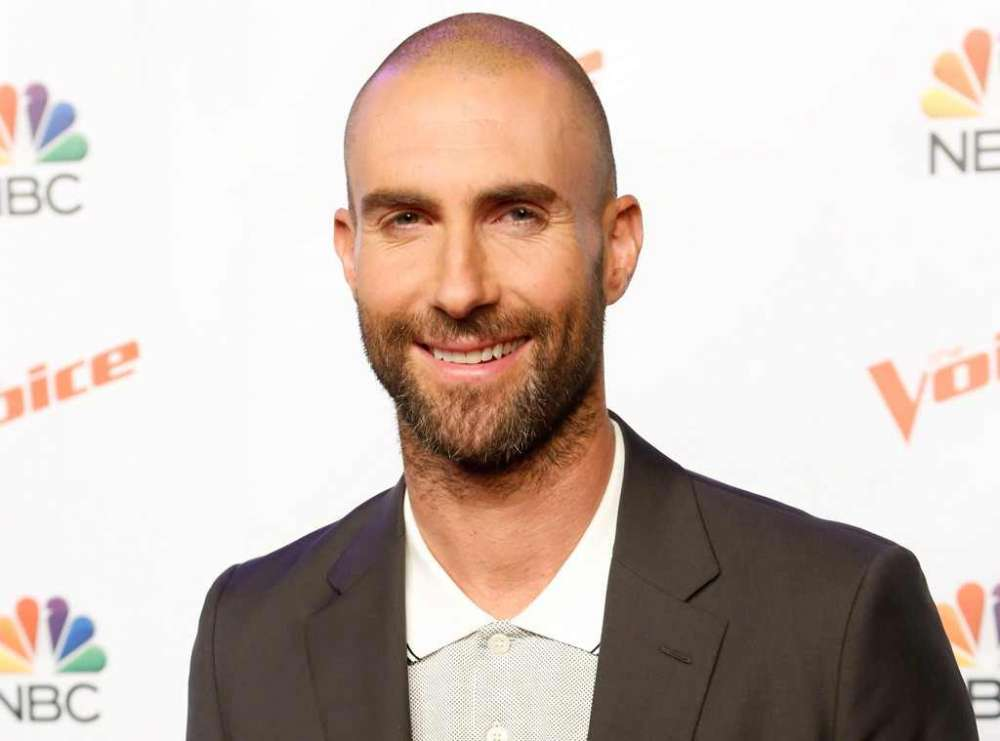 Adam Levine Strips During Maroon 5's Super Bowl Halftime Show