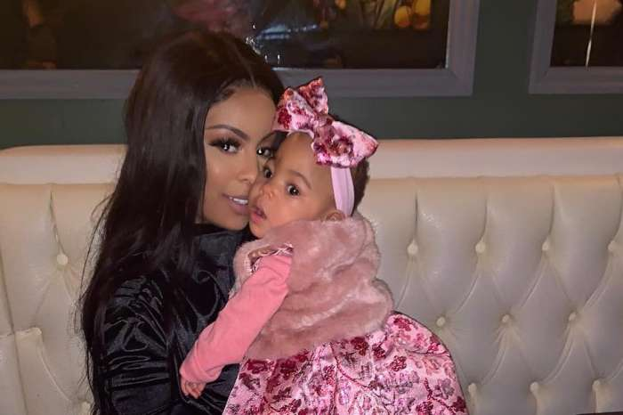 Alexis Skyy Shares A Throwback Pic Featuring Herself As A Baby And She's Twinning With Her Daughter