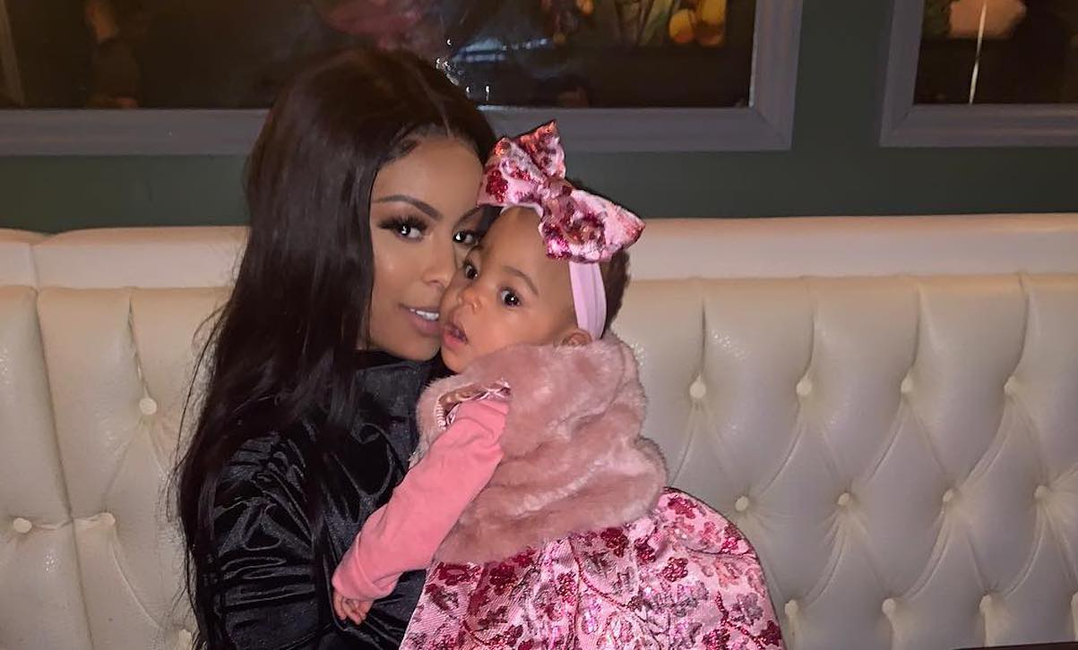 Alexis Skyy Shares A Throwback Pic Featuring Herself As A Baby Ans She's Twinning With Her Daughter