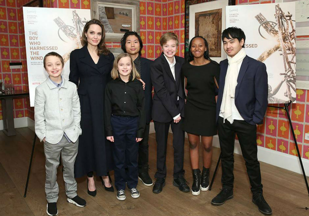 Angelina Jolie And Her Kids Are All Smiles As Brad Pitt And Jennifer Aniston Reconciliation Rumors Gain Steam