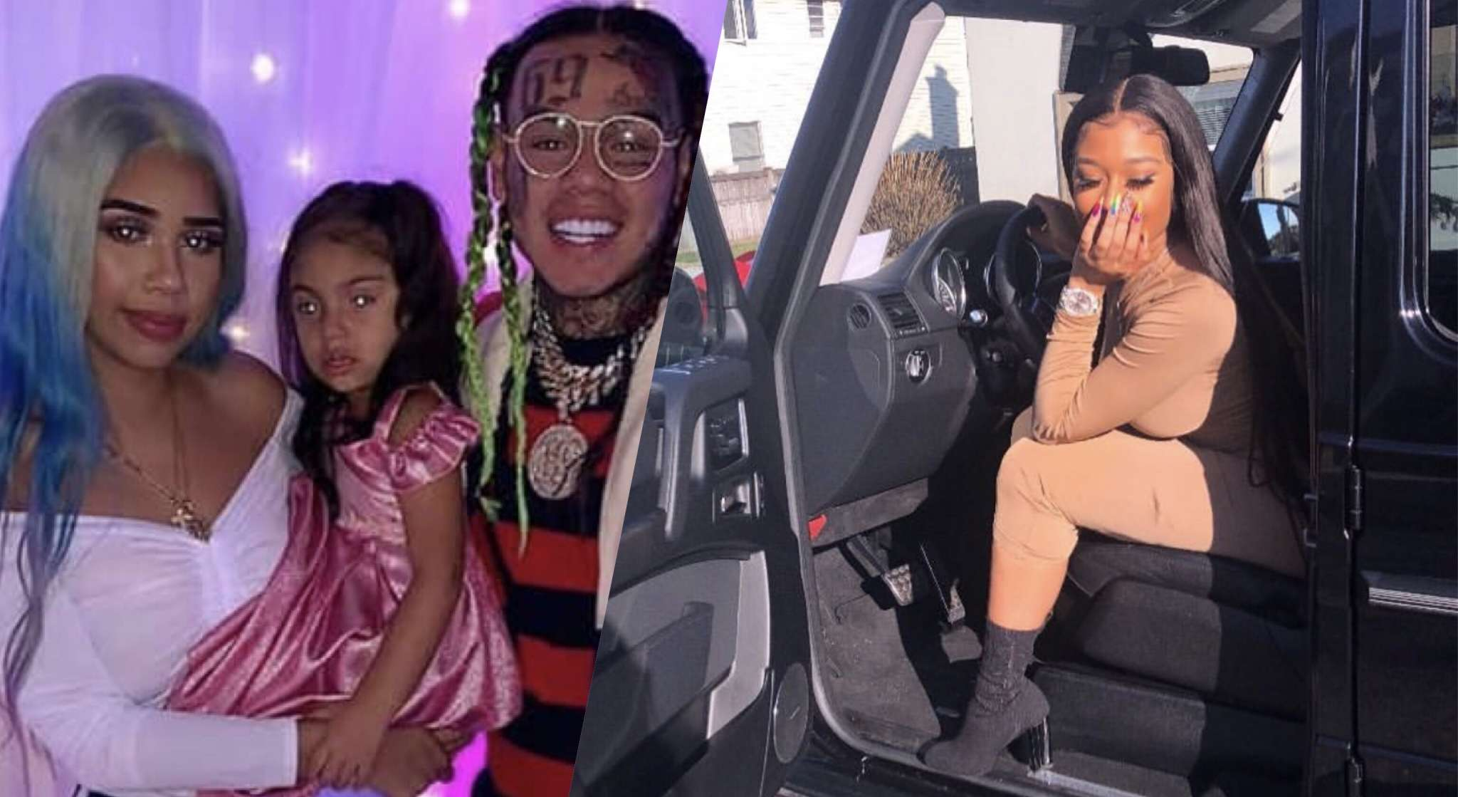 Tekashi 69's Baby Mama Sara Says His Snitching Puts Her Family At Risk And The Rapper's GF, Jade Slams 'Washed Up' Rappers Such As Snoop Dogg Who Accuse 69 - Watch The Video