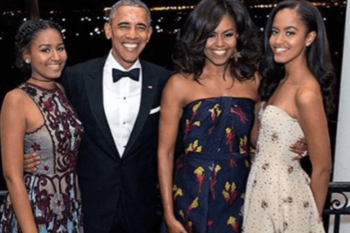 Barack And Michelle Obama's Sweet Love Exchange On Valentine's Day Has People Asking Where Are Donald And Melania Trump's Valentine's Day Greetings